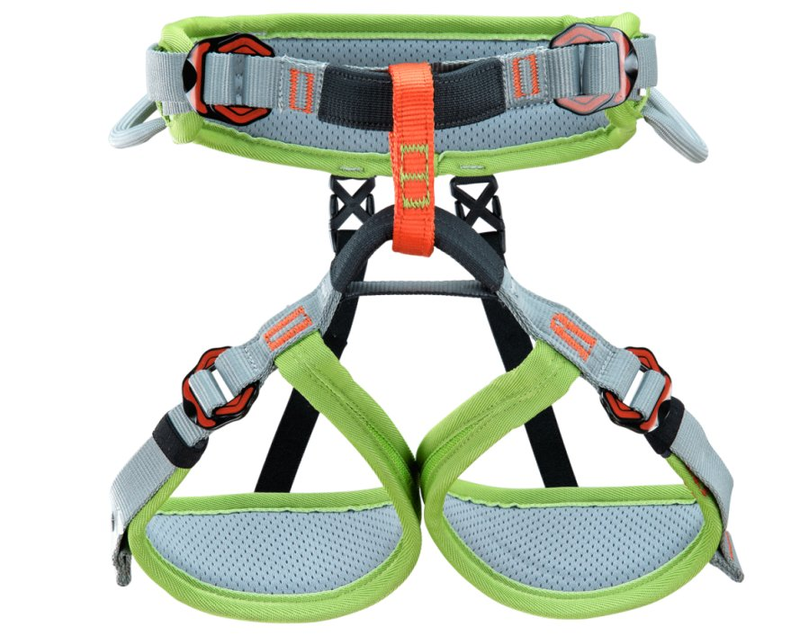 Uprząż Climbing Technology Ascent XXS JUNIOR dla Dzieci grey/green