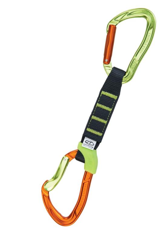 Ekspres Climbing Technology Nimble Evo Set NY PRO 12cm Orange/Green