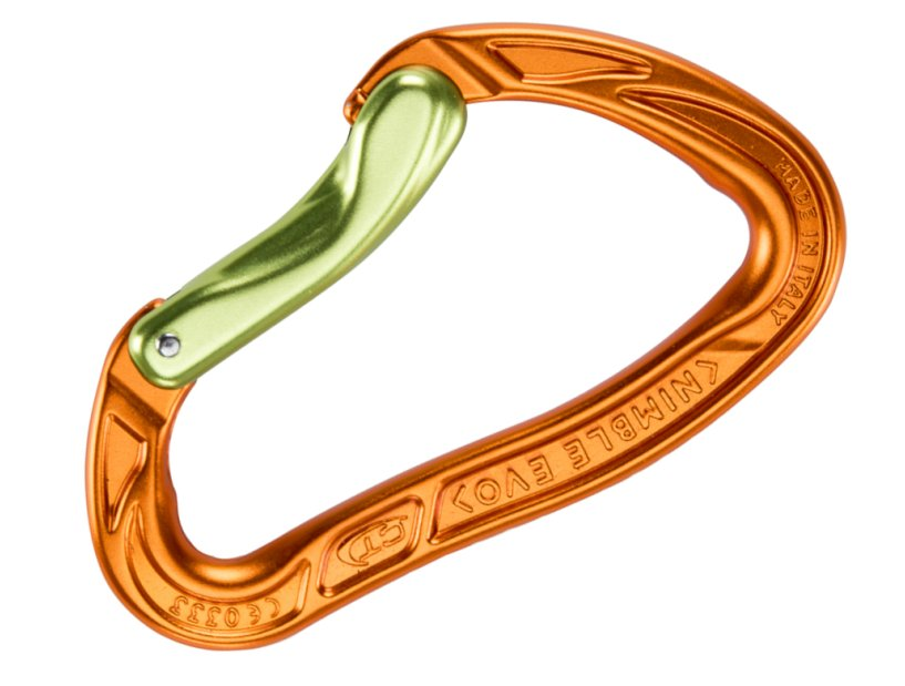 Karabinek Climbing Technology Nimble Orange/Green